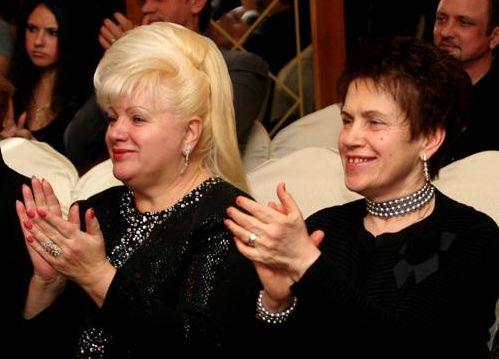 Ольга Пшонка і Людмила Янукович