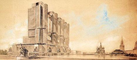 Проекти сталінської Москви