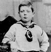 Молодий Уїнстон Черчиль