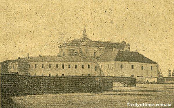 Монастир Бернардинів - нині Собор св. Трійці
