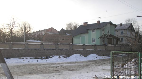 Особняк на залишках палацу Вітовта
