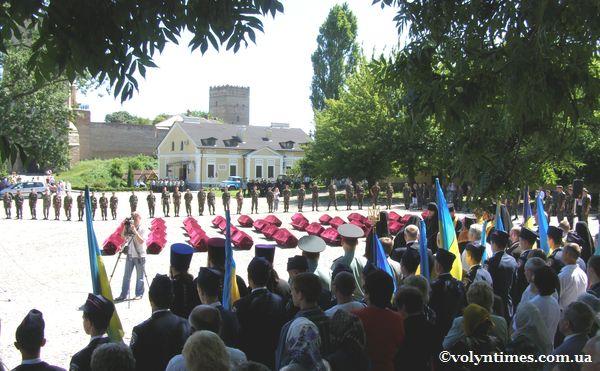 Церемонія поховання військовополонених