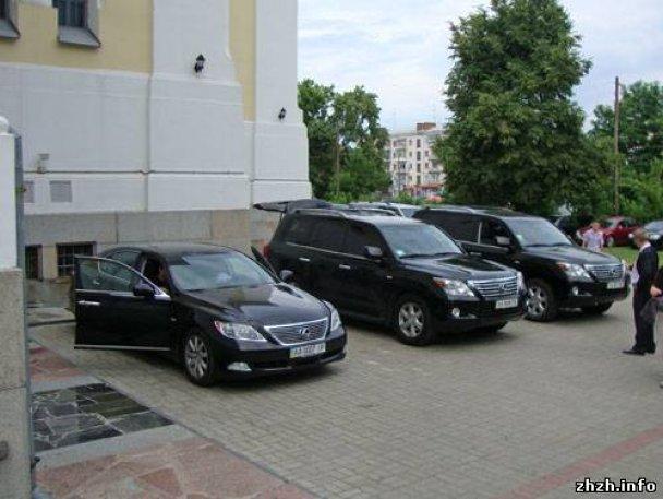 Автопарк єпископа Житомирського і Новоград-Волинського УПЦ Никодима