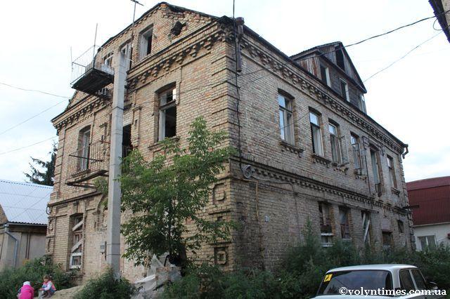 Знищена пам'ятка місцевого значення на вул. Галшки Гулевичівни, 12 а