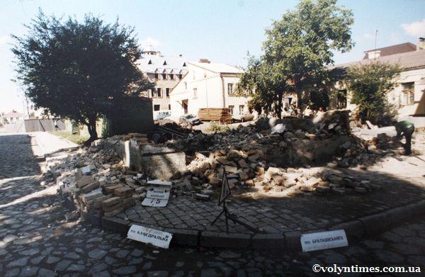 Знищений будинок на вул.Кафедральній, 15