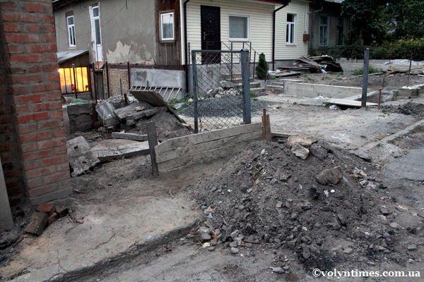 Місце знахідки на вул. Горького