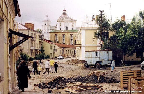 Реконструкція вул.Братковського. 2003 рік