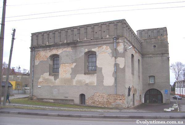 Приміщення луцької синагоги