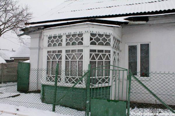 Веранда будинку на вулиці Червоного Хреста, 7