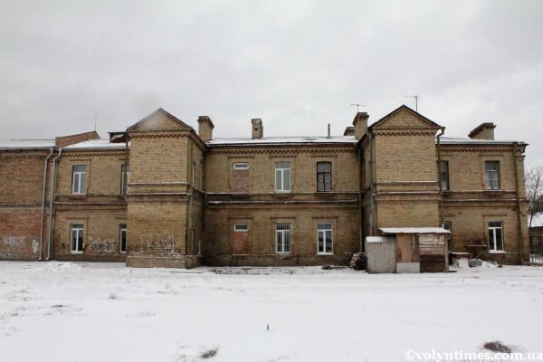 Тильна сторона будинку поч. ХХ ст. на вулиці Шевченка, 52