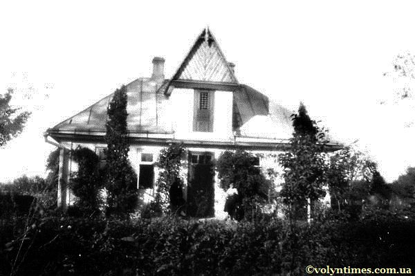 Будинок на Гущі. Фото 1935 р.