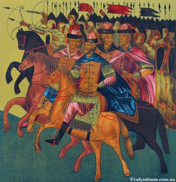 Похід Юрія Долгорукого з синами на Луцьк