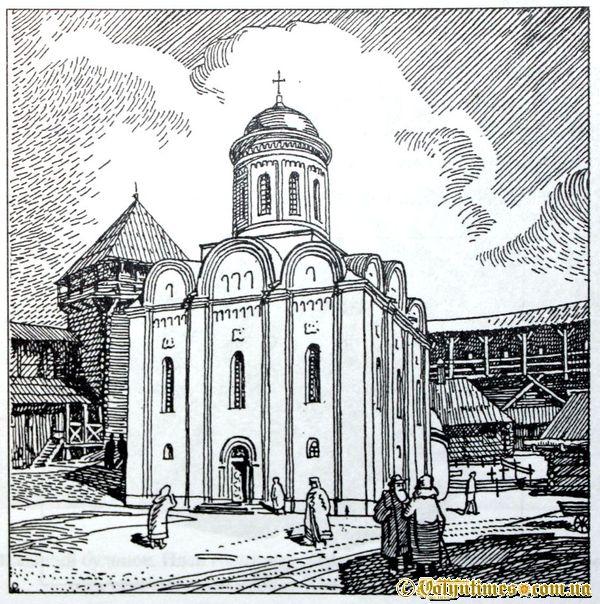 Кафедральна церква Іоанна Богослова в луцькому замку. Рек. Р. Метельницького