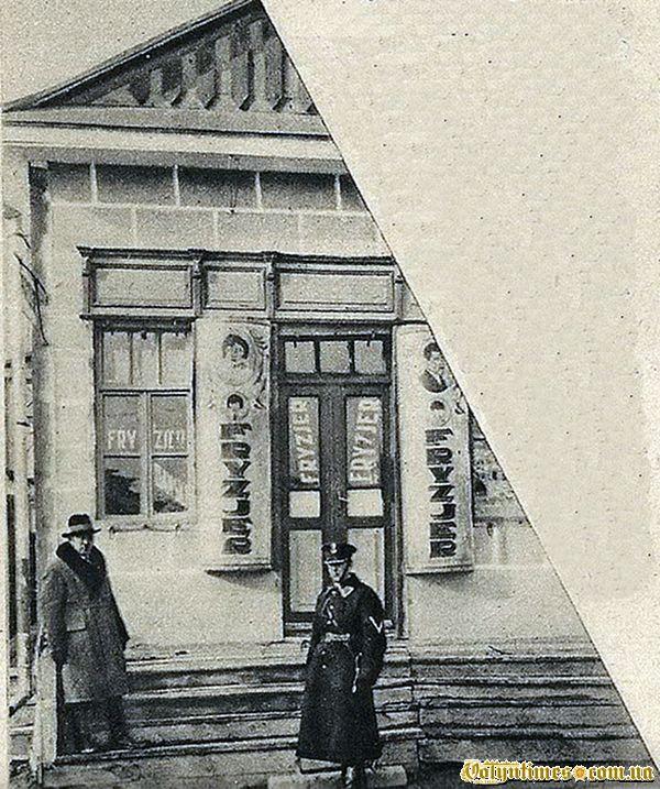 Лігво банди Баньковського - фризерня на вул.Пілсудського, 65