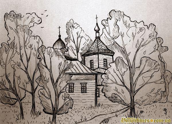 Церква на околиці Запруддя