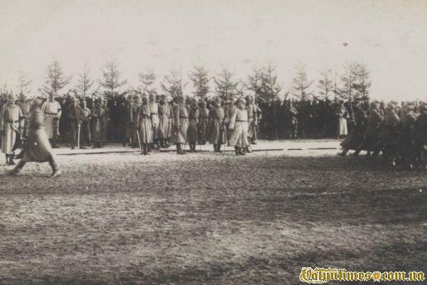 Парад в честь приїзду короля Баварії 1916 р.