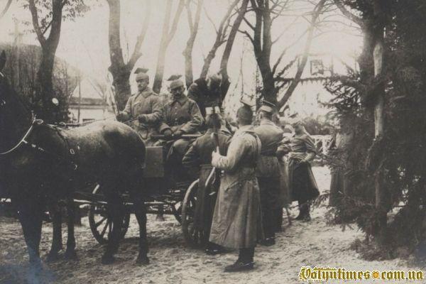 Король Баварії в Камені – Каширському 1916 р.