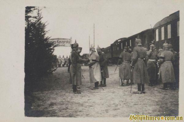 Король Баварії покидає Камінь – Каширський 1916 р.