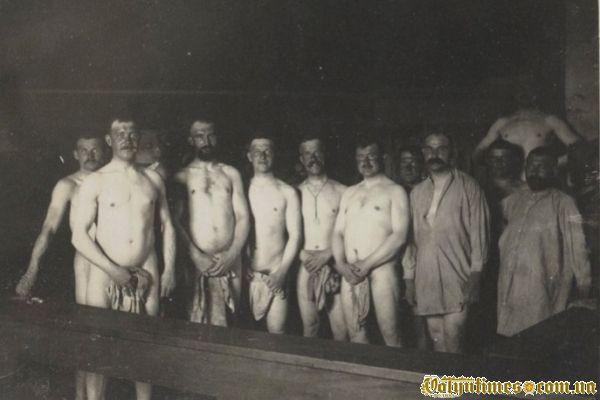 Солдати в лазні 1916 р.