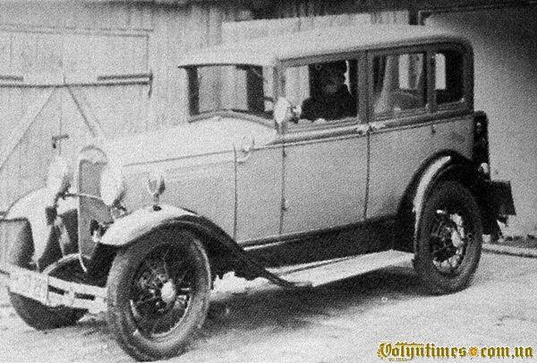 Перші авто в Камені-Каширському