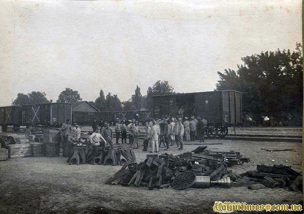 22 серпня 1915р. Евакуація Кременця