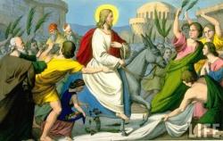 А Ісус їздив на вiслюковi...